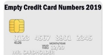 200 Free Credit Card Numbers with CVV [2019 List] - TechyWhale