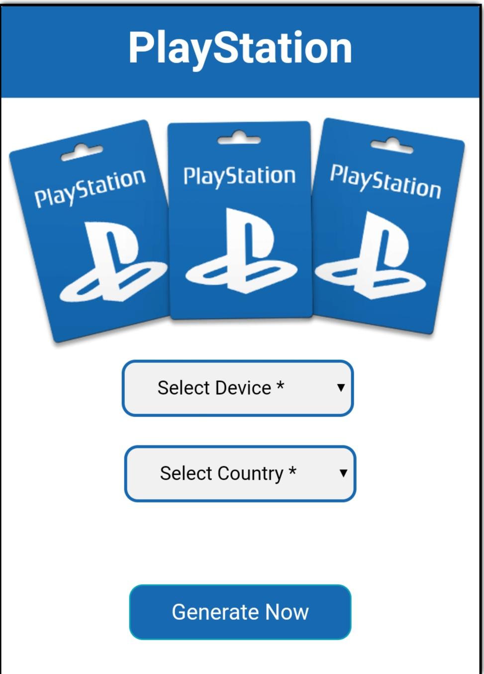 Free PSN Codes No Survey Generator - How to get free PSN