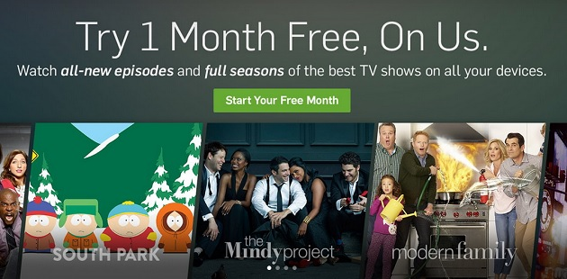 a month hulu free trial no credit card