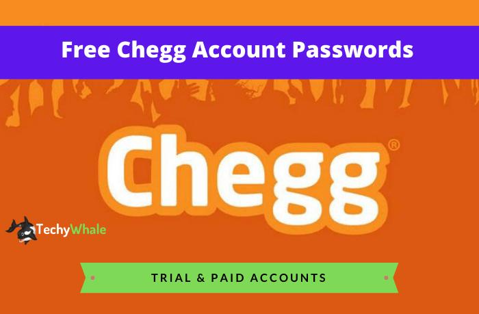 chegg login password