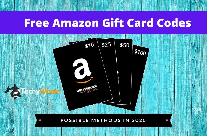 Free Amazon Gift Card Codes Generator 2021 Working List