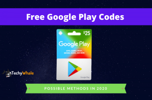 Free Google Play Cards