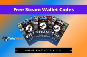 Free Steam Wallet Codes 2020
