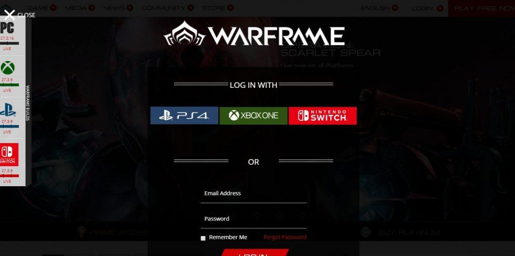 warfram website