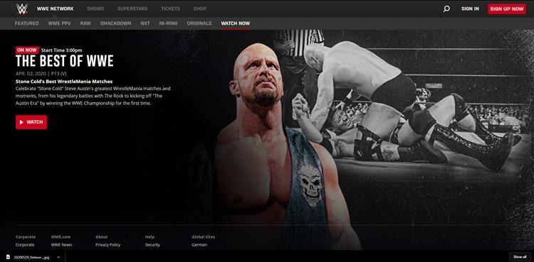 Network logout wwe WWE 2K22