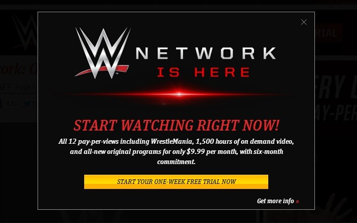 Free login wwe network VIP AUDIO