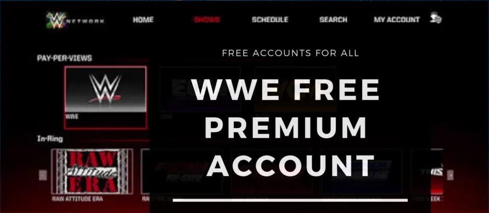 Wwe network login free